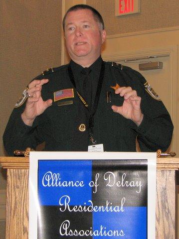 P. B. County Sheriff's Dept. Lt. Pete Ebel