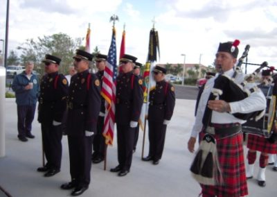 bagpipes firehouse grand opening 002